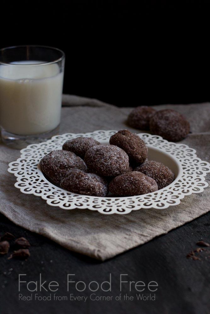 Starry Starry Nights Chocolate Cookies