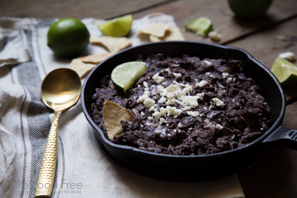 Refried Black Beans With Garlic And Lime Fake Food Free